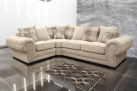 brown and cream sofa. Brilliant Brown Verona Fabric Corner Sofa Velour Chesterfield Style Left CreamBrown And Brown Cream L