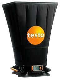 Flow Hood Testo 420 Flow Hood Kit And Meter W Nist Certificate 400563 4200
