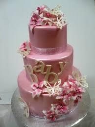 8 The Most Beautiful Baby Shower Fondant Cakes Photo Pink Elephant