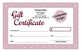 Automotive Gift Certificate Template For Libreoffice Congratulations ...