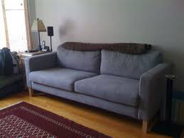 karlstad sofa review leather onvacations wallpaper ikea crazy the librarian