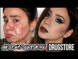 get ready with me acne scars coverage on light skin makeup full coverage foundation