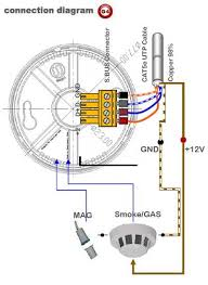 smoke detectors wiring diagram efcaviation com how to replace a hardwired smoke detector at Wiring A Smoke Detector Diagram