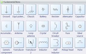 Electrical Symbols Chart Basic Electrical Diagram Symbols Wiring Diagrams
