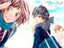 This list does not include second seasons and ovas. Anime Manga Ao Haru Ride Blue Spring Ride アオハライド