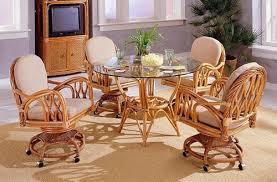 awesome outstanding kitchen breathtaking dining room chairs casters regarding on wheels decorations 15