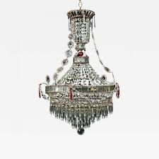 listings furniture lighting chandeliers and pendants a fine antique italian louis xvi style crystal
