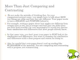example of comparing and contrasting essays comparison and contrast essay introduction examples compare contrast