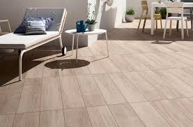 Outdoor relaxation decor idea with Q-style tile from Cooperativa Ceramica  d'Imola.