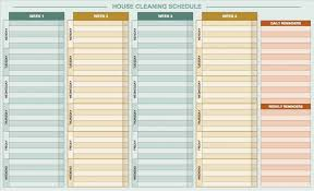 026 Template Ideas Daily Routine Wonderful Chart Baby