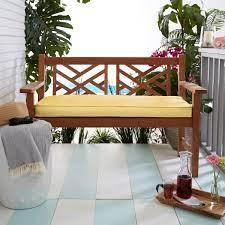 sunbrella bench cushion 45 x 18 x 2