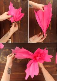How To Make Paper Flower Backdrop Picture Of Colorful Diy Paper Flower Backdrop For Your Wedding 6