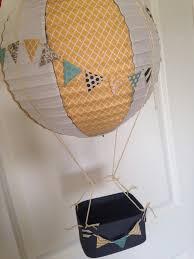 how to make hot air balloon centerpiece - Google Search