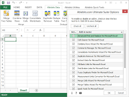 Excel Com Add Ins Outlook Plugins Addins Developed With