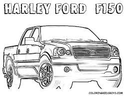 Printable 16 Ford Truck Coloring Pages 6796 - Ford Truck Coloring ...