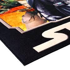 star wars rug hd digital ep 5 darth vader yoda chewbacca r2d2 kids bedding wall decals
