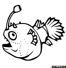 Small Picture Football Fish Coloring Page Free Football Fish Online Coloring