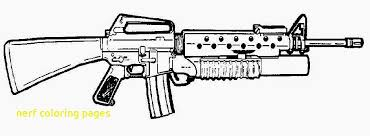 Useful Gun Colouring Pages Coloring Pictures N 12213 Maries And Nerf