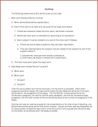 unique asa format template excuse letter rogerian essay outline essay outline template