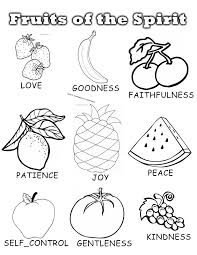 Small Picture Fruit Of The Spirit Coloring Sheets PrintableOfPrintable
