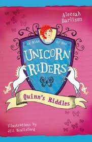 unicorn riders book quinn s riddles by aleesah darlison available at book depository with free delivery worldwide