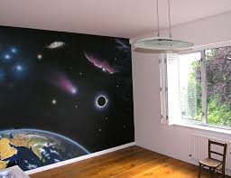 realistic space mural space themed nursery spaces space themed nursery and