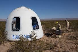 Origin Resumes Blue Origin Resumes New Shepard Testing With Crew Capsule 2 0