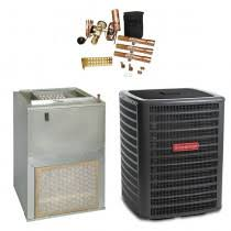 goodman central air conditioner. 2.5 ton goodman 14.5 seer wall mounted air handler (eem motor) with 5 kw central conditioner