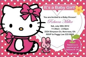 Hello Kitty Birthday Invitations Party City Printable Free Baby