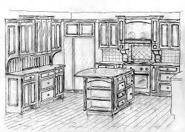 Sketchup Kitchen Design Extraordinary Kitchen Design Sketch Wonderful Interior Design For Home