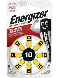 <b>Батарейки Energizer</b> для слуховых аппаратов AZ10, 8 <b>шт</b> ...