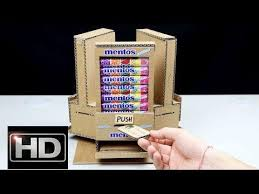 Diy Vending Machine Delectable Wow Amazing DIY Vending Machine With 48 Different Taste Mentos At