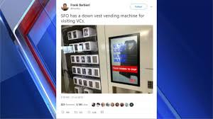 Twitter Powered Vending Machine Mesmerizing VestVending Machine A Big Hit In San Francisco FOX48
