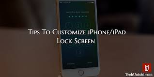 How to Customize iPhone Lock Screen with these tips