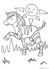 High quality free printable coloring, drawing, painting pages here for boys, girls, children. Printable Zebra Coloring Pages For Kids Coloring4free Coloring4free Com