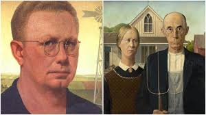 the famous painting named american gothic was painted by grant wood in 1930 and is one of the most recognizable american paintings of the 20th century