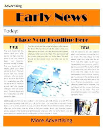 Newspaper Ad Template For Word Free Kids Templates Documents