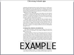 apa citation essay cite essay in book apa custom paper help