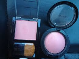 Exact dupe! <b>MAC</b> blush in <b>Dainty</b>= Maybelline FitMe blush in ...