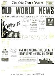 Editable Old Newspaper Template Newspaper Template Free Editable Old Poster News Paper