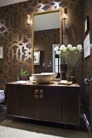 bathroom wall cabinet mirror faucet tile