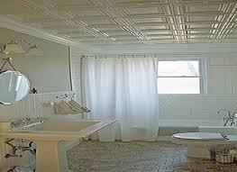 bathrooms with beadboard tin bathroom ceiling ideas