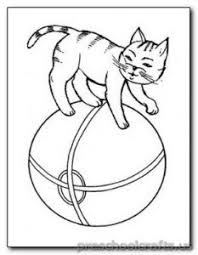 Small Picture preschool cat coloring pages Cat Coloring Pages Pinterest Cat