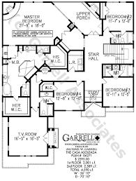 casa asoleada house plan 06271 2nd floor plan