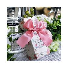 Wedding Favor And Candy Box Gift Bag Paperboard Gift Box