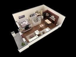 General: Dark Wood Floor Ideas - 1 Bedroom Apartment