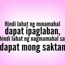 Tagalog Quotes On Twitter Be Contented On Who You Have Because
