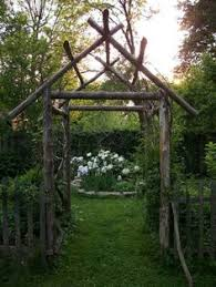 Small Picture Cedar garden archway Gardening things Ive made Pinterest