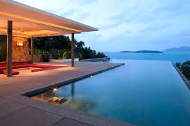 Infinity Pool Design Modern Home Stratosphere The Infinity Pool Has Stairs Leading Into It From One Corner Of The Patio 65 Incredible Infinity Pool Design Ideas stunning Photos