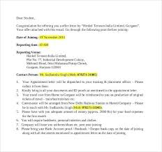 Appointment Letter Template Offer Templates Doc Free Premium
